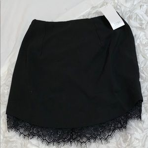 Brand new with tags! Black mini skirt from Tobi